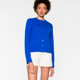 Paul Smith Women's Blue Cotton Cardigan