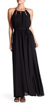 Gracia Ribbon Tie Maxi Dress