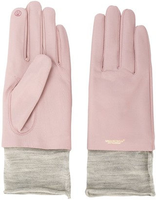 Undercover Two Tone Layered Gloves