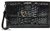 Victoria's Secret Victorias Secret Love Luxe Python Tech Clutch