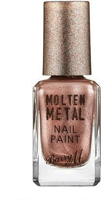 Barry M Molten Metals Nail Paint 10Ml Pink Ice