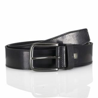 LINDENMANN men's leather belt/men's belt full grain leather