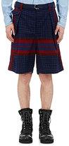 Sacai Men's Abstract-Print Shorts-NAVY