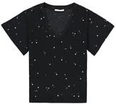 Sessun Sale - Chet Polka Dot V-Neck T-Shirt
