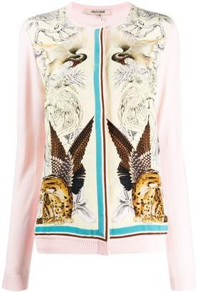 Roberto Cavalli animal-print cardigan