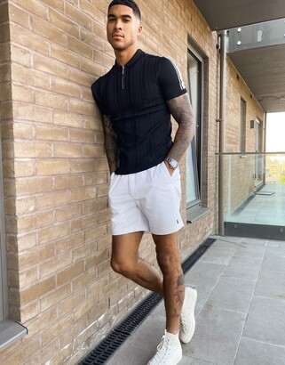 Polo Ralph Lauren Prepster player logo chino shorts in white