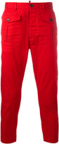DSQUARED2 cropped cargo trousers - men - Cotton/Spandex/Elastane - 46