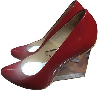 Maison Martin Margiela Pour H&m Red Patent leather Heels