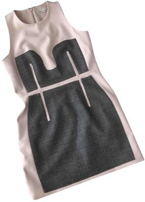 Richard Nicoll Beige Wool Dress for Women