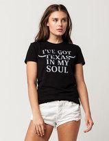 Full Tilt GOODIE TWO SLEEVES Texas Soul Womens Tee