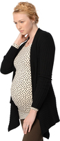 A Pea in the Pod Autumn Cashmere Rib Knit Maternity Cardigan