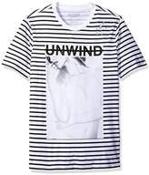 GUESS Men's Unwind Crew Neck T-Shirt