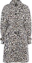 Karen Millen Leopard Print Trench