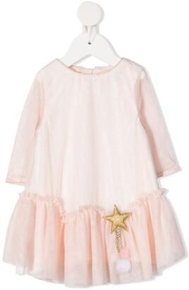 Billieblush Star-Detail Tutu Dress