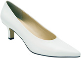 Ros Hommerson White Kendra Leather Pump