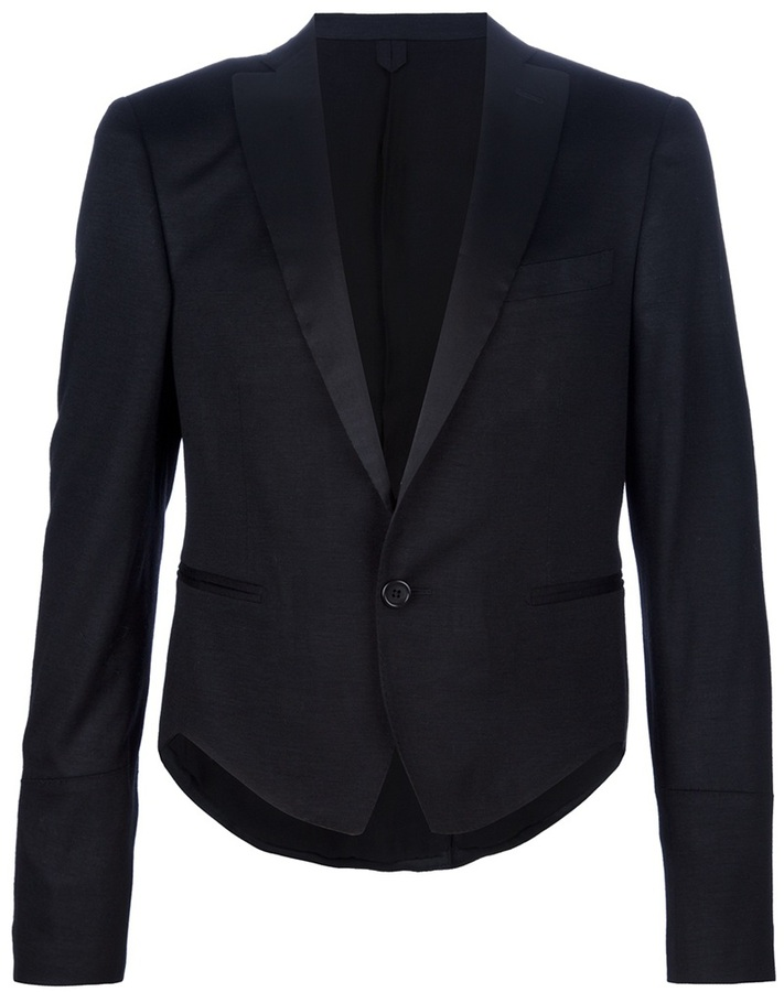 Tonello Claudio cropped dinner jacket