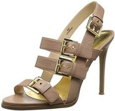Nine West Women's Howrude Leather Heeled Sandal