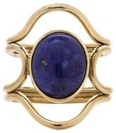 Mociun Connection Lapis Cabochon Ring
