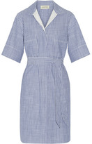 By Malene Birger Olali Striped Cotton Shirt Dress - Blue