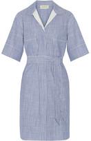 By Malene Birger Olali Striped Cotton Shirt Dress - Blue