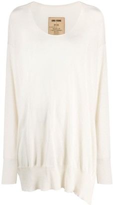 UMA WANG Knitted Relaxed Fit Jumper