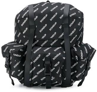 Dondup Kids Monogram-Print Backpack