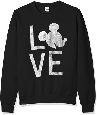 Disney Girls' Mickey Love Sweatshirt