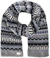 Selected Men's Jacquard scarf H Aztec Scarf