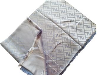 Fendi Turquoise Cashmere Scarves