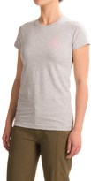 Browning Fitted Buckmark T-Shirt - Short Sleeve (For Women)