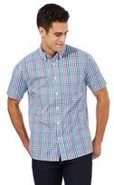 Maine New England Multi-coloured Gingham Print Shirt