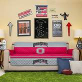 Ohio State Buckeyes Quilted Sofa Cover