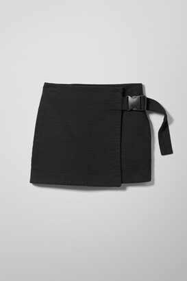 Weekday Page Mini Skirt - Black