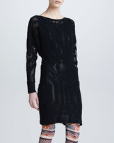 Jean Paul Gaultier Lace Tunic with Metallic Underlay
