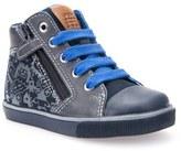 Geox 'Kiwi' High Top Sneaker (Walker & Toddler)