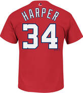 Majestic Men's Bryce Harper Washington Nationals Official Player T-Shirt