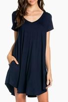 Sweet Pea Mini Shirt Dress