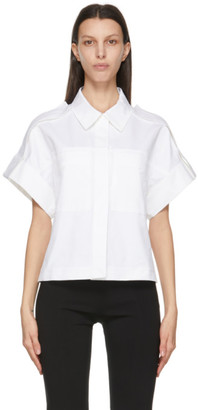 LVIR White Wide Capra Short Sleeve Shirt
