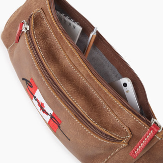 Roots Script Canada Fanny Pack Tribe