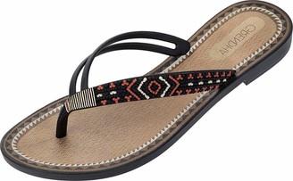 grendha Raider Unisex Adults Chanclas ACAI VI Thong FEM Negro Beach & Pool Shoes