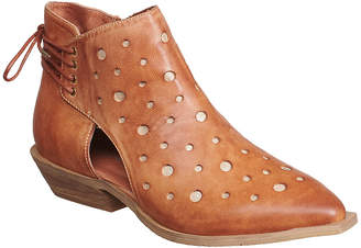 Antelope Women's Casual boots TOBACCO - Tobacco Cutout Leather Ankle Boot - Women
