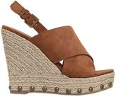 KG by Kurt Geiger 120mm March Suede Wedge Sandals