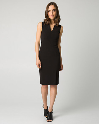 Le Château Double Weave Shift Dress