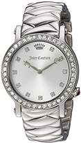 Juicy Couture Women's 'LA Luxe' Quartz Stainless Steel Casual Watch, Color:Silver-Toned (Model: 1901487)