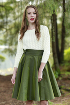 Shabby Apple Celeste Skirt Green