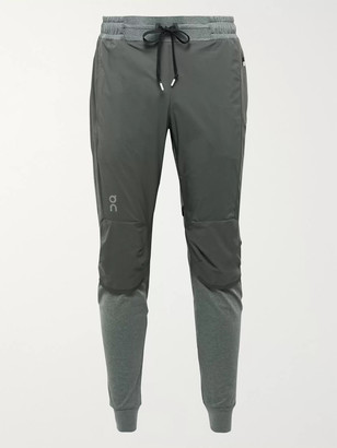 On Slim-Fit Tapered Ripstop And Tech-Jersey Sweatpants