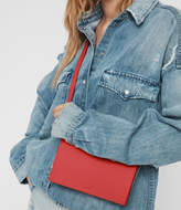 AllSaints Fetch Leather Chain Wallet Crossbody Bag