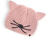 Karl Lagerfeld Pink Choupette Knit Hat