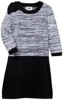 Milly Minis Space Dye Bow Dress (Big Girls)