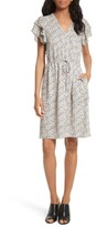 Rebecca Taylor Women's Floral A-Line Silk Dress
